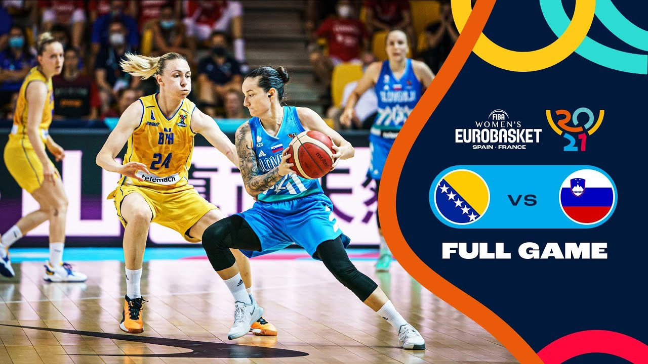 Bosnia and Herzegovina v Slovenia   Full Game - FIBA Women's EuroBasket 2021 Final Round
