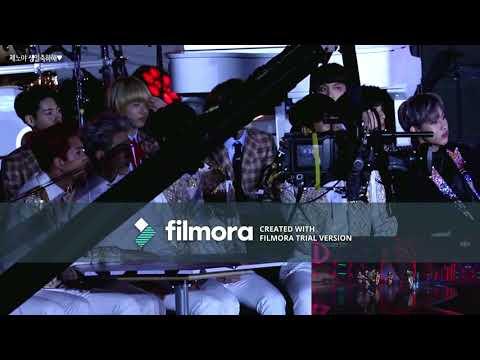 VIXX reaction to EXID at SBS Gayo Daejun 2016