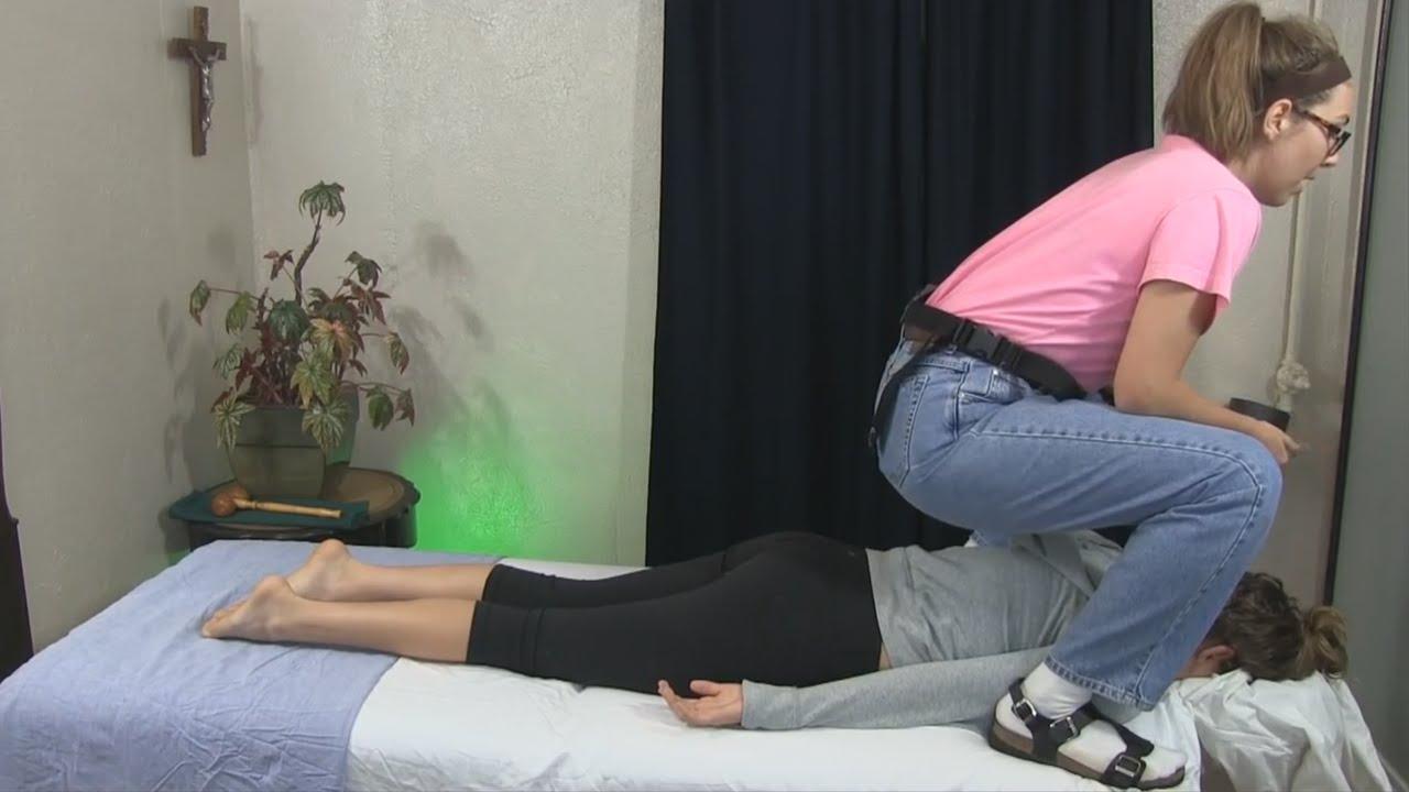 Chiropractic Adjustment - YouTube