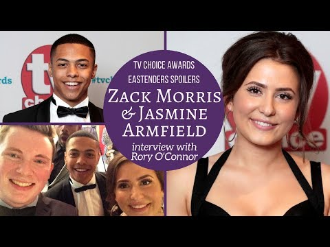 EastEnders: Zack Morris & Jasmine Armfield interview with Rory O'Connor | @jasarmfield @_Zack_Morris