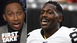 Antonio Brown's 'clownish' behavior rallied the Raiders vs. the Broncos - Stephen A. | First Take