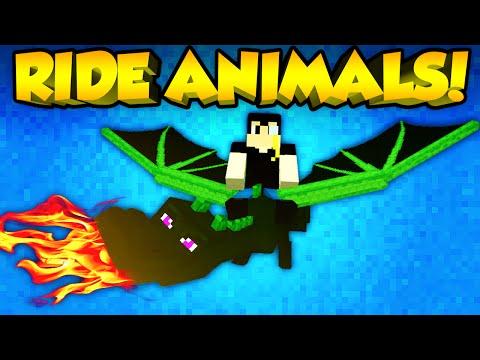 Minecraft Mods - RIDE ANY ANIMAL! | Animal Bikes Mod! [Minecraft Mod Spotlight] (Minecraft 1.7.10)