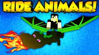 Minecraft Mods - RIDE ANY ANIMAL! | Animal Bikes Mod! [Minecraft Mod Spotlight] (Minecraft 1.7.10)