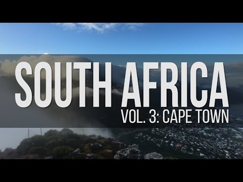 VLOG - Best Photography Spots in Cape Town South Africa Travel Guide