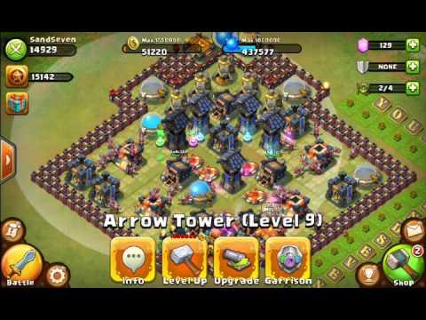 Castle Clash Best Dungeon For 1600+xp