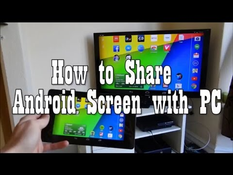 Easiest Ways to Share Android screen with PC