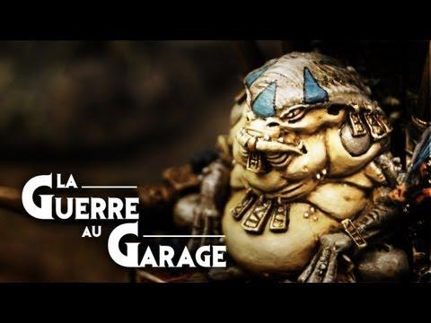 - La Guerre au Garage N°4 - Rapport de bataille warhammer Bretonniens vs HL