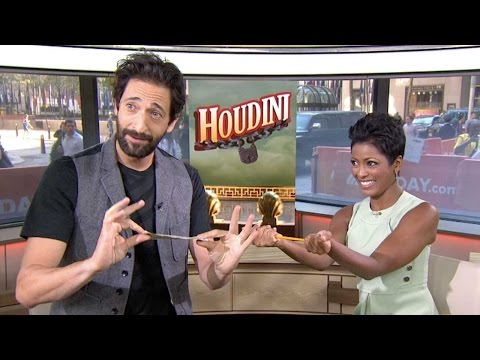 Adrien Brody Has A Trick Up His Sleeve | TODAY
