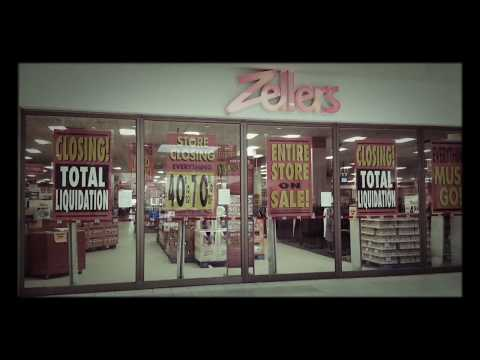 Zellers Store Closing - Google Photos Creation