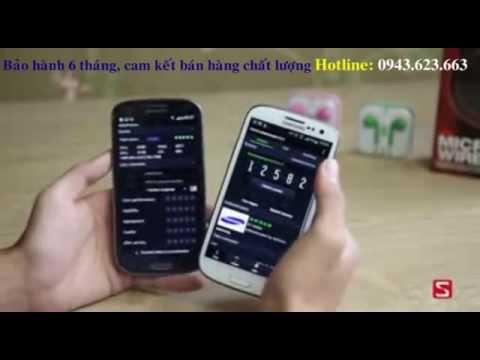 Điện thoại Samsung galaxy S3 với Galaxy S4 giá rẻ nhất tại Hà Nội
