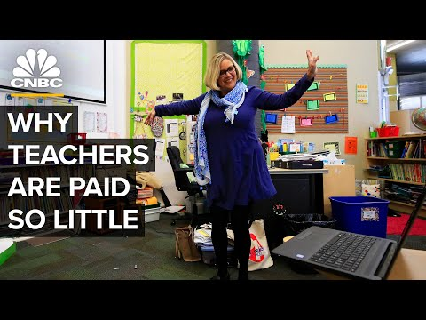 Why Teachers Are Paid So Little In The U.S.