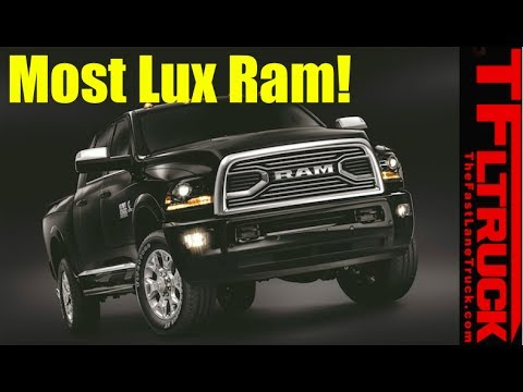 2018 Ram Limited Tungsten Edition: Most Luxurious Ram Ever!