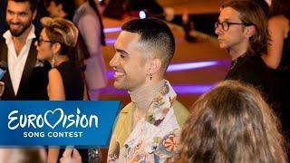 ESC 2019: Mahmood aus Italien auf dem Orange Carpet | Eurovision Song Contest | NDR