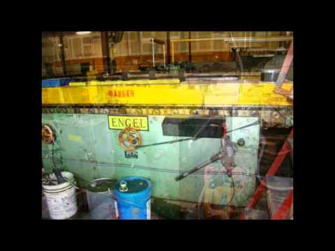 Used Coil Line - Used Engel & Wysong Coil Line For HVAC Sheet Metal Rectangular Duct Item #1401TA