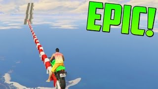 super mega ultra imposible no me lo creo gameplay gta 5 online funny moments carrera gta v ps4