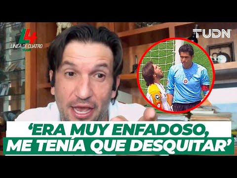 EXCLUSIVA: ¡'Kikín' Revela Qué Le Dijo A Oswaldo Sánchez En Aquella Final Del 2004!   TUDN