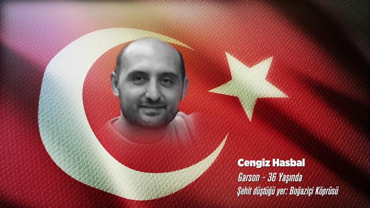 15 Temmuz Şehidi Cengiz Hasbal