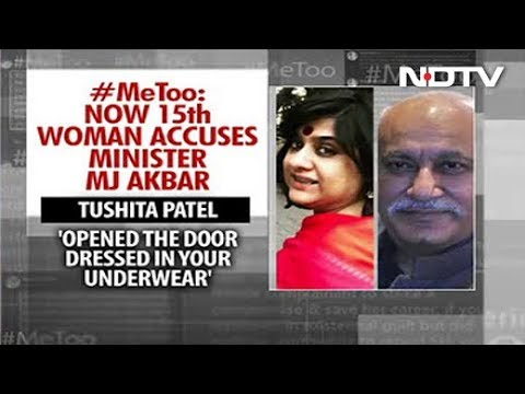 """Opened Door In Your Underwear"": Another Woman Comes Out Against MJ Akbar"