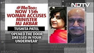 """""""Opened Door In Your Underwear"""": Another Woman Comes Out Against MJ Akbar"""