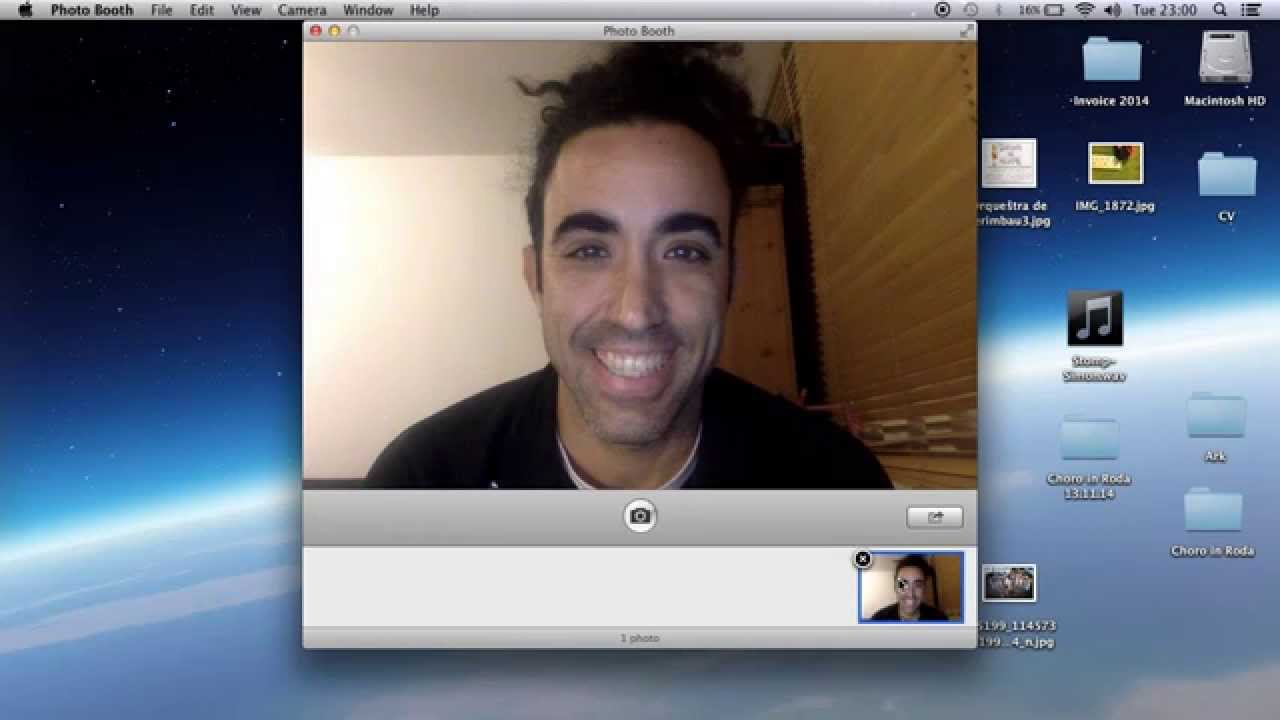 How to take pictures with macbook air camera grainy