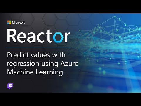 Predict Values with Regression Using Azure Machine Learning