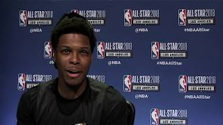Which Sport Would NBA Players Play Outside of Basketball? | 2018 All-Star Media Availability