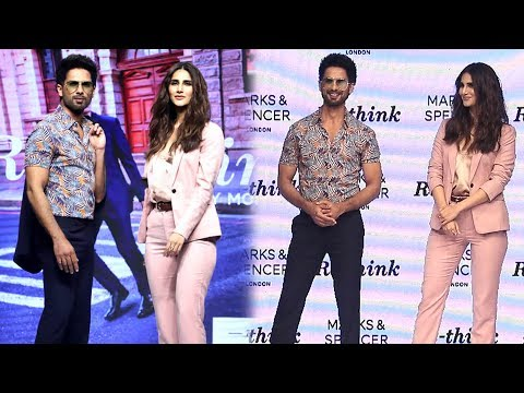 Shahid Kapoor And Vaani Kapoor At Marks And Spencer's Fashion Show 2019   FULL EVENT