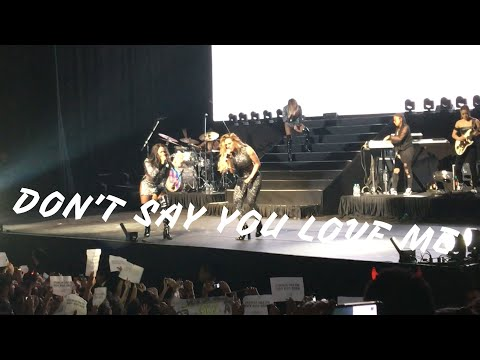 Fifth Harmony - Don't Say You Love Me - PSA Tour Belo Horizonte (04/10/2017)