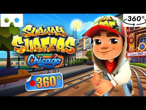 SUBWAY SURFERS 360° // VR 360° Virtual Reality Experience 4k Video