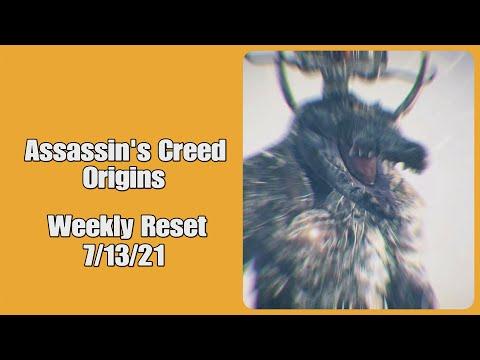 Assassin's Creed Origins- Weekly Reset 7/13/21 |
