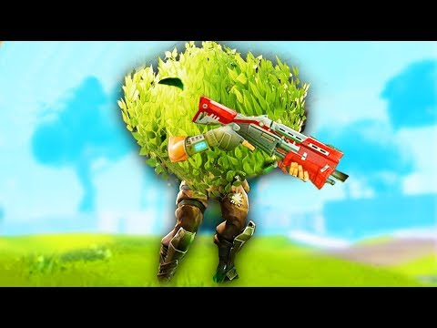 THE WEAPONIZED BUSH! -  Fortnite Battle Royale
