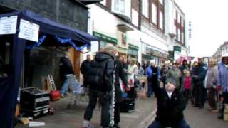 The Dualers with Arnold - 'Haven't You Heard?' - Last Romford Busk