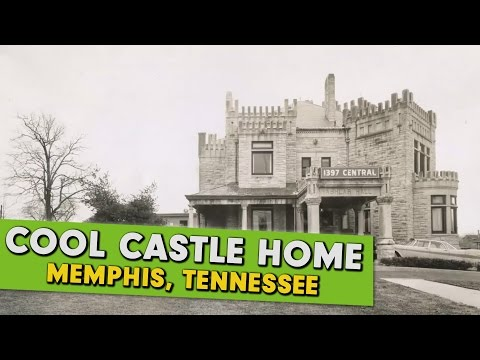 "Tennessee Castle ""Ashlar Hall"" in Memphis, Vacant and Abandoned"