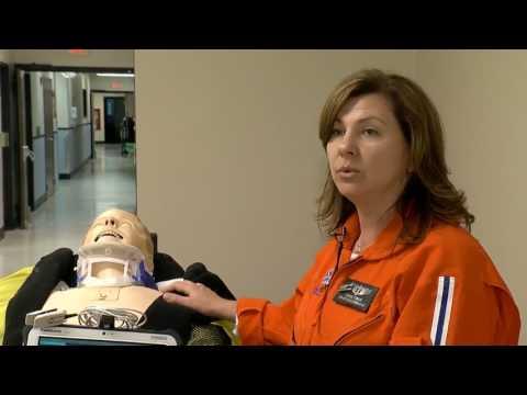 ECMC uses high-tech dummy to simulate major trauma events