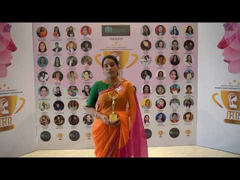 India's Most Prominent Women Empowerment Awards 2019 | ANITHA EATHAMUKKALA | VistaDent