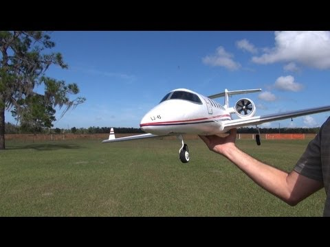 Hobby Lobby Lear 45 Executive Jet EDF Flight