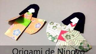 Origami ningyo