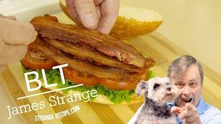 BLT with Avocado and Basil Mayonnaise Recipe