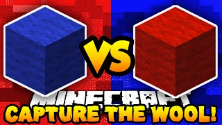 Minecraft RED vs BLUE! (6v6 Capture The Wool) w/ PrestonPlayz & Friends!