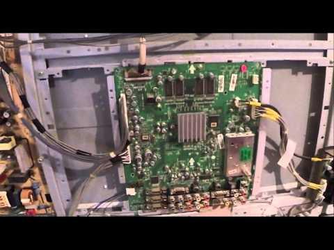 "LG 42"" 42LB5D Flashing LED No Power Blank screen FIXED! 42LB5DF Blinking"