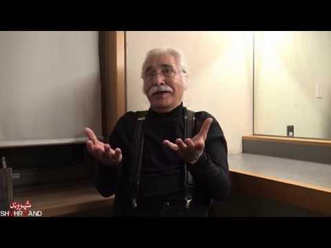 ایرج جنتی عطایی در شب ترانه خوانی گزارش شهروند- بهرنگ رهبری