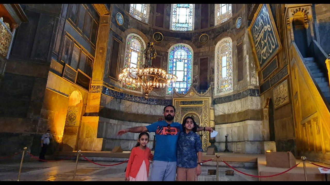 """الكنيسة البيزنطية """" آيا صوفيا """" اسطنبول 1300 عام من العظمة"""