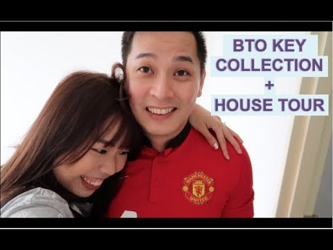 OUR BTO KEY COLLECTION, FINALLY! | #CXCRIB Journey Part 1