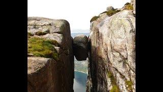 Кьерагболтен (Kjeragbolten) - та самая Горошина. Не Орёл и Решка. Моменты одного дня в Норвегии.