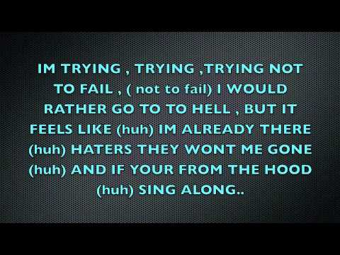 Ace Hood ft t-pain try'n / trying with lyrics