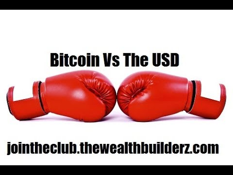 Bitcoin Vs USD US Dollar | Who Wins