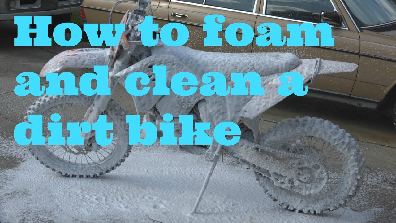 how to properly clean a road bike