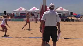 15U Division - AAU Beach VB - National Championships - Doucet/Smith vs. Davis/Hashman
