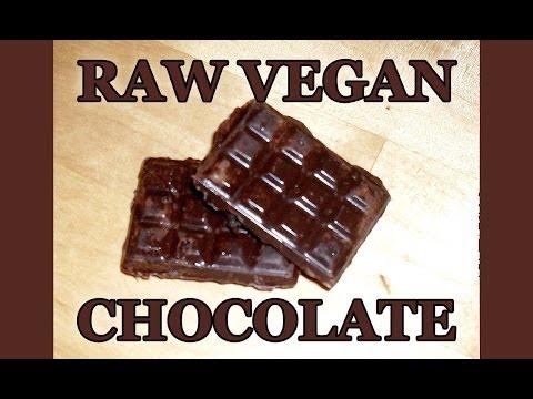 Köstliche Schokolade selber machen, und die ist sogar gesund (Raw Vegan Chocolate)