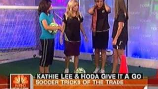 Mia Hamm & Brandi Chastain two the greatest female soccers off-time